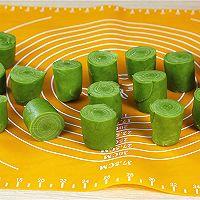 抹茶蛋黄酥的做法的做法图解11