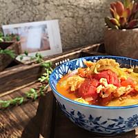 番茄丝瓜蛋汤的做法图解10