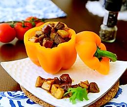 黑椒牛肉杏鲍菇-牛肉嫩滑的秘诀的做法