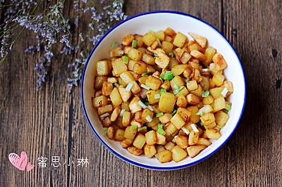 香炒鸡肉土豆丁