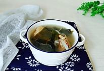 #一人一道拿手菜#筒子骨煨海带的做法