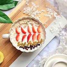 水果燕麦牛奶#10分钟早餐大挑战#