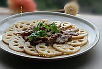 藕片炒瘦肉的做法