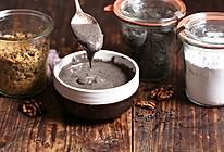 【自制黑芝麻糊】超健康的养生早餐的做法