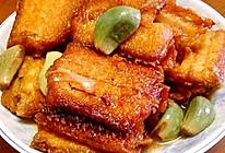 腊八蒜烧带鱼的做法