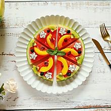 """西瓜""""披萨""""#花10分钟,做一道菜!#"""