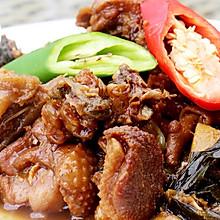 红焖野生天鹅肉--威厨艺
