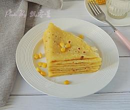 奶香玉米软饼的做法