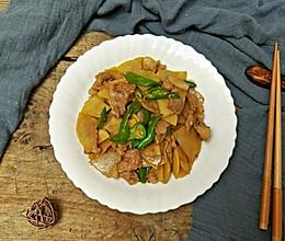 五花肉炒土豆片#母亲节,给妈妈做道菜#的做法
