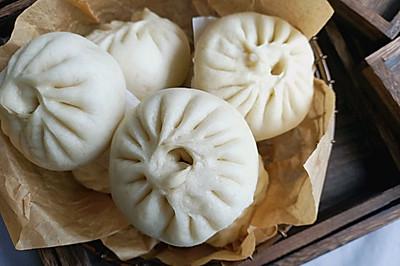 #硬核菜谱制作人#野菜发面大包子