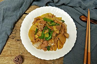 五花肉炒土豆片#母亲节,给妈妈做道菜#