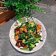 香菇菜心烩豆泡