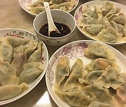 肉三鲜饺子(猪肉韭菜虾仁)的做法