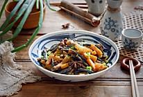 紫豆角烧土豆条的做法