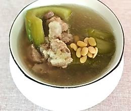 夏天老火靓汤——黄豆苦瓜排骨汤的做法