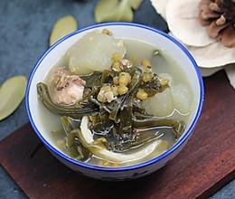 鱼腥草海带绿豆汤的做法