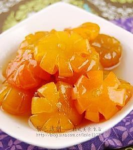虎年年夜饭后的解腻小食 糖渍金桔的做法