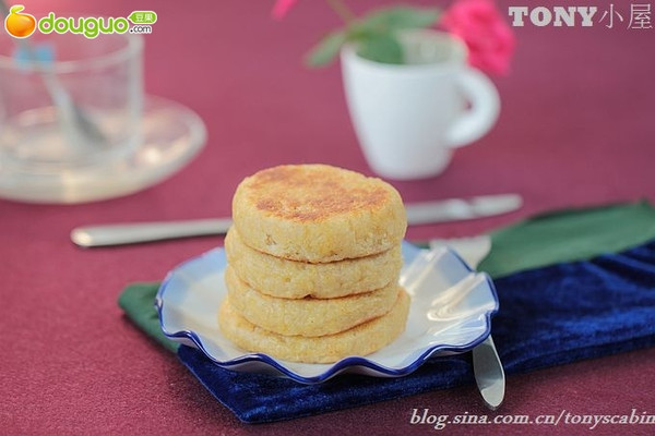 糯黄米饼的做法