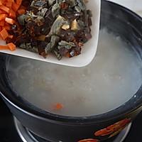 胡萝卜皮蛋瘦肉粥的做法图解8