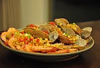 蒜蓉蒸海鲜-绝对拿得出手的宴客菜的做法