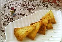 #硬核菜谱制作人##金龙鱼精英烘焙大赛阿狗战队#香酥蛋糕片的做法