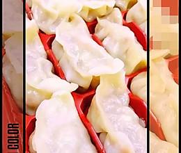 饺子皮,馄饨皮(面包机版) 饺子馅,萌饺煮法的做法