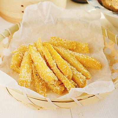 椰蓉红薯条★手指食物