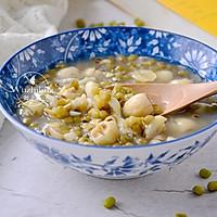 莲子百合绿豆汤 #520,美食撩动TA的心!#的做法图解1