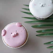 #童年不同样,美食有花样#棉花糖杯子蛋糕