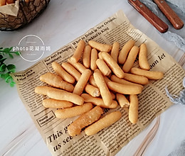 小零食江米条不用买了,自己在家做的做法