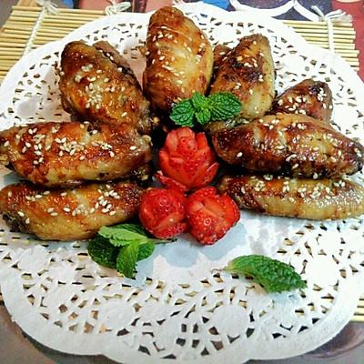 烤箱蜂蜜鸡翅