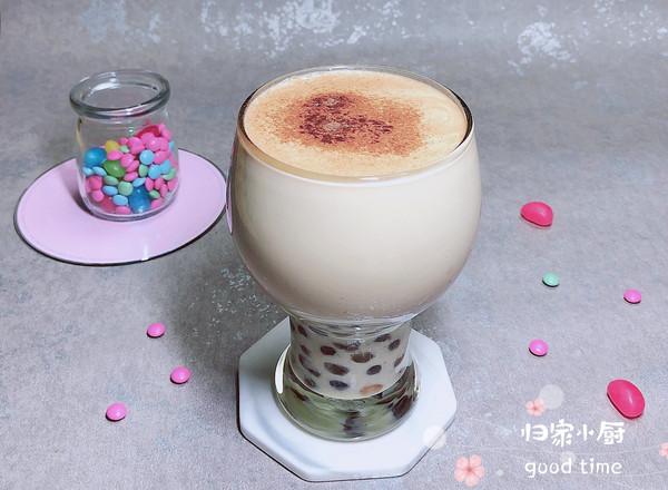 #晒出你的团圆大餐#网红波霸珍珠奶茶的做法