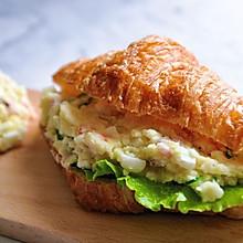 鸡蛋马铃薯沙拉三明治