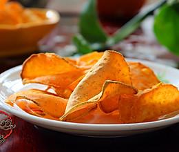 烘烤红薯片#长帝烘焙节(刚柔阁)#的做法