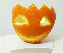 橙子灯的做法