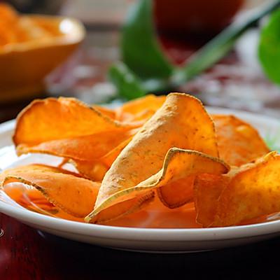 烘烤紅薯片