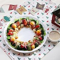 圣诞花环-丘比沙拉汁的做法图解16