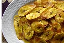 简单零食:平底锅/电饼铛做酥脆香蕉片的做法