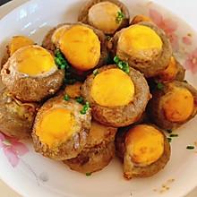 白蘑菇酿鹌鹑蛋