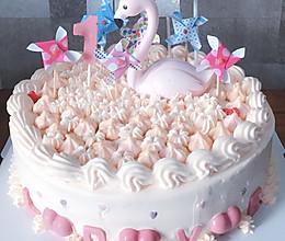 粉嫩公主系蛋糕的做法