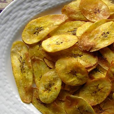 简单零食:平底锅/电饼铛做酥脆香蕉片