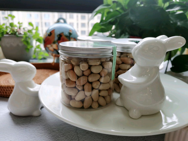 爱你的小豆豆❤️盐焗花生米的做法