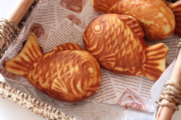风靡街头小吃—鲷鱼烧的做法
