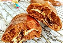 #换着花样吃早餐#巧克力奶酪面包的做法