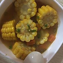 玉米萝卜西红柿汤