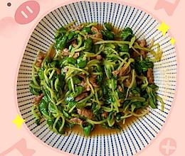 芽菜炒肉的做法
