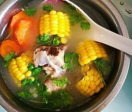 筒骨营养汤的做法