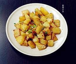 香葱土豆#我要上首页下饭家常菜#的做法