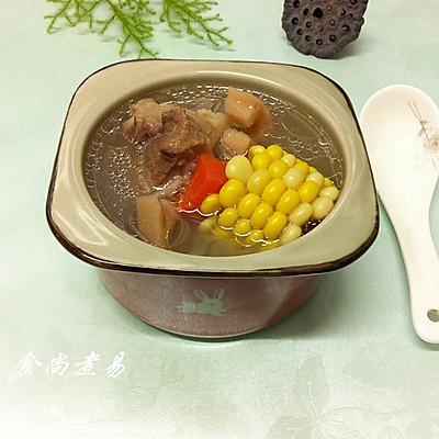 玉米莲藕筒骨汤