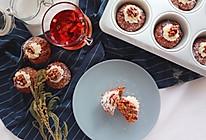 """风靡欧洲的胡萝卜杯子蛋糕#在""""家""""打造ins风#的做法"""